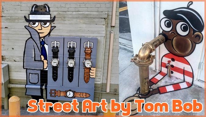 ニューヨークの街に描かれたユニークなストリートアート作品集