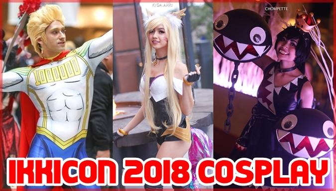 アメリカのアニメコンベンション「IKKiCON 2018」のコスプレ集