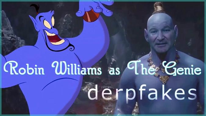 もしも実写映画「アラジン」のジーニーがロビン・ウィリアムズだったら?