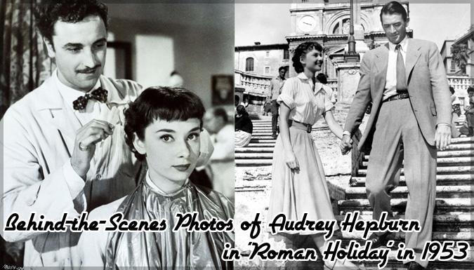 ローマの休日の舞台裏を撮影したオードリー・ヘップバーンの貴重な写真集