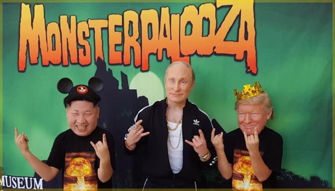 世界最恐の大統領と最高指導者がモンスターパルーザでパーティーを開催!?