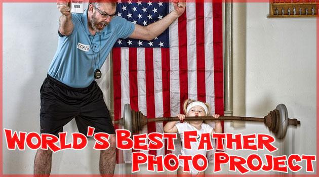 お父さんが撮影と加工をした素晴らしすぎる親子の写真集