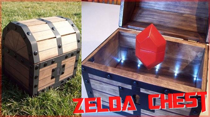 ゼルダの伝説の宝箱が婚約指輪チェストになって登場!