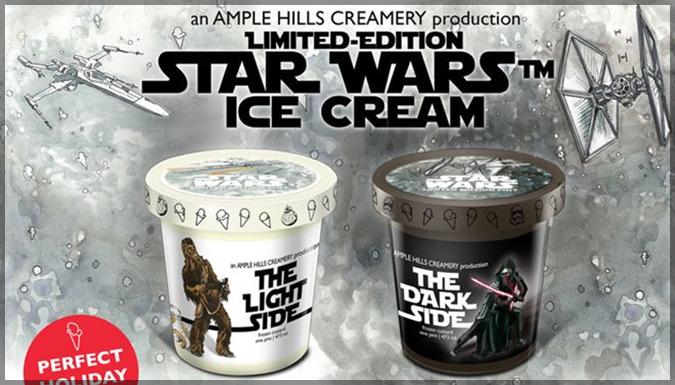 スターウォーズ/フォースの覚醒をテーマにした限定アイスクリームが登場!