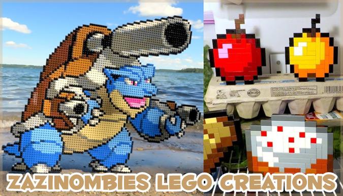 LEGOで様々なゲームやアニメのアイテムを再現するYouTubeチャンネル!
