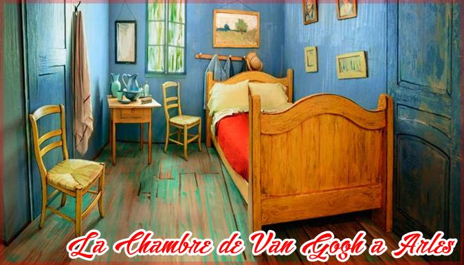 名画「ファンゴッホの寝室」を再現したお部屋が世界中で話題に!