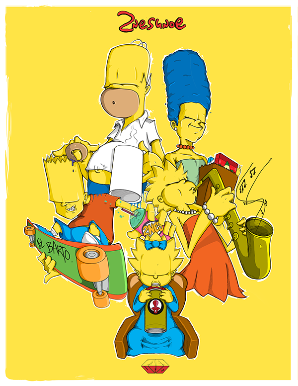 Simpsons-All-Favorite-Family