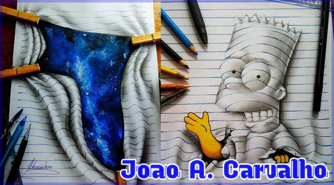 16歳のアーティストによるノートブックを使った驚異の3Dアート!