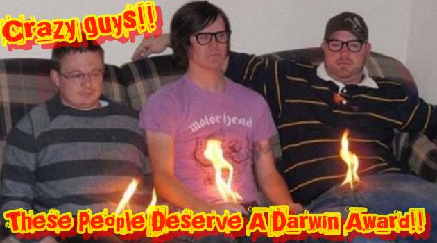 ダーウィン賞を受賞するに値するクレイジーな人々をご紹介!
