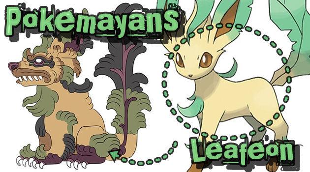 古代マヤ文明のポケモンたち!マヤ文明風ポケモンアート!