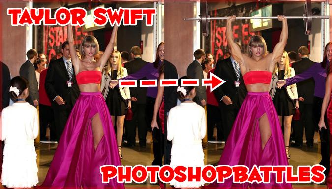 グラミー賞に輝いたテイラー・スウィフトの写真でフォトショップバトル!