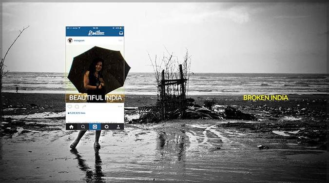 美しいインドの裏にある壊れたインドの姿を現したインスタグラム写真集