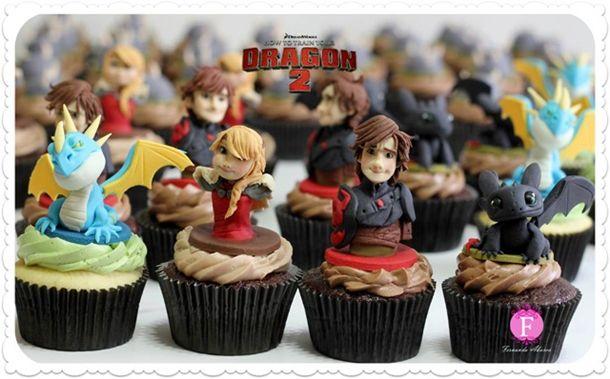 cupcakesDragons2