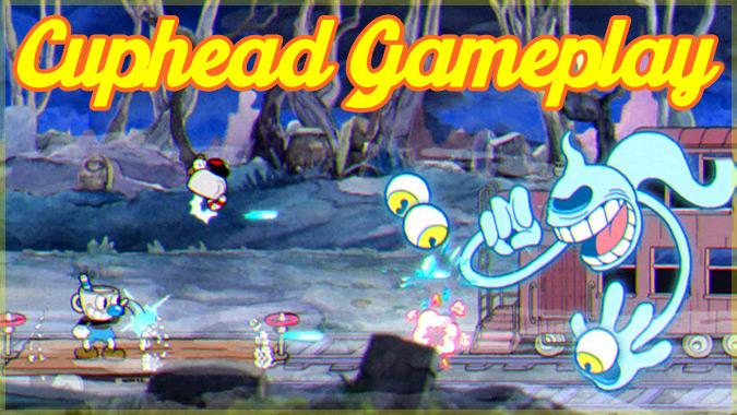 レトロなカートゥーン風の2Dアクションゲーム「Cuphead」のプレイ映像集!