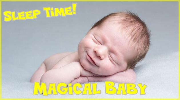 人々の心を不思議と癒す魔法のような赤ちゃんの寝顔姿!