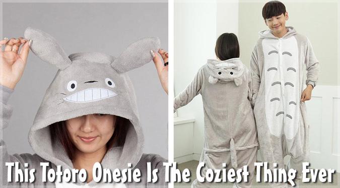寒い時期に最適のトトロの着ぐるみパジャマ!ジブリ好きには嬉しい!