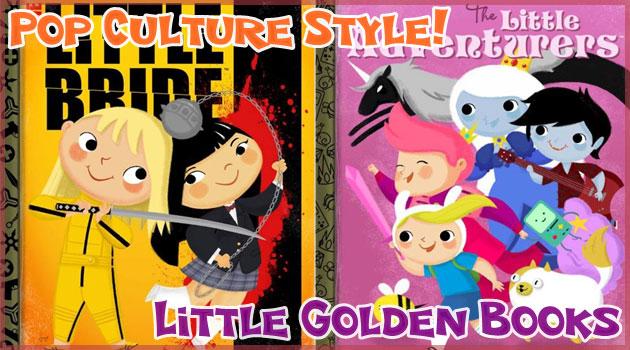 映画やゲームやアニメを可愛い児童向け絵本風に描いた作品集