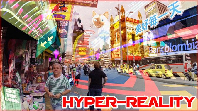 仮想現実が普及した未来の世界を描いた短編フィルム「HYPER-REALITY」