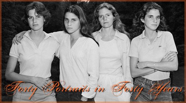 4姉妹を40年間に渡り撮影し続けた心打たれる肖像写真集
