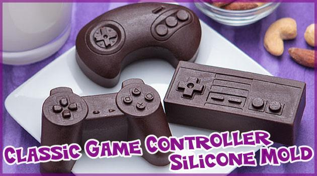 ギークのための手作りコントローラー型チョコレート