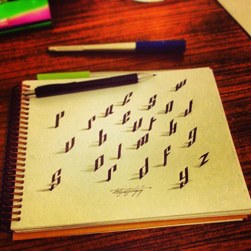 3d-optical-illusion-calligraphy-tolga-girgin-7