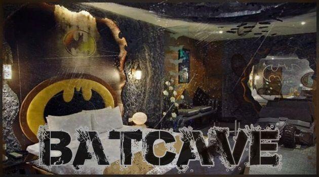 バットマンの秘密の基地!バットケイブを再現したモーテル!