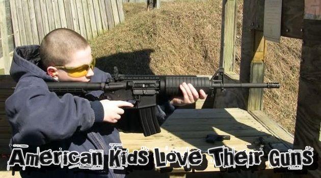 銃を愛するアメリカの子どもたち!?若すぎる射撃訓練!