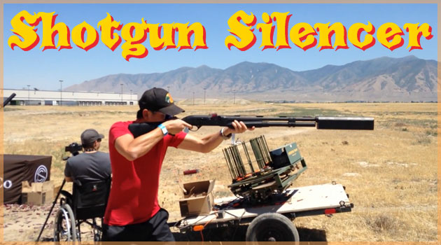 ショットガンにサイレンサーを装着すると驚異の暗殺武器に!