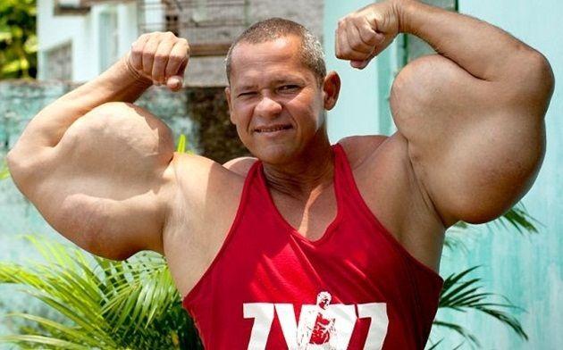 ポパイは実在した!?ブラジル最大の上腕二頭筋を持つ男!