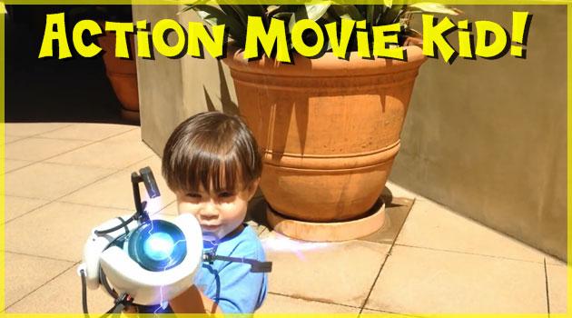 男の子のホームビデオがハリウッド並みの映像で凄い!