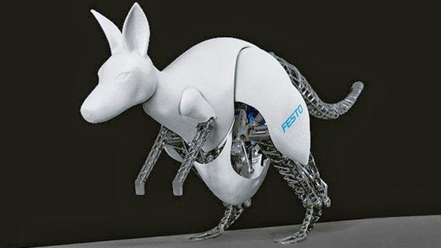 フエストが新型ロボットの『バイオニックカンガルー』を開発!