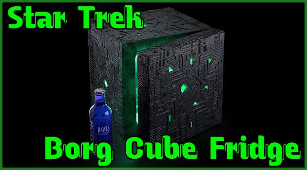 スタートレックのボーグ・キューブをモチーフにした冷蔵庫