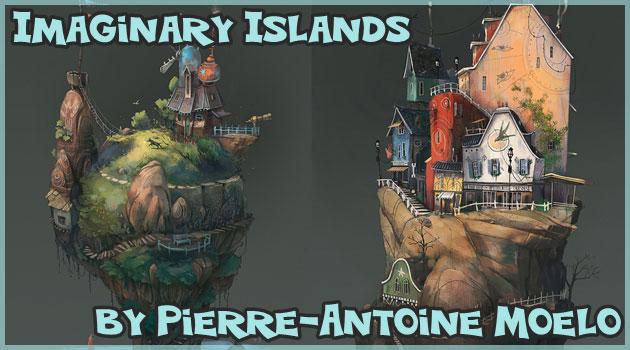 架空の島々を描いたファンタジー溢れるイマジナリー諸島