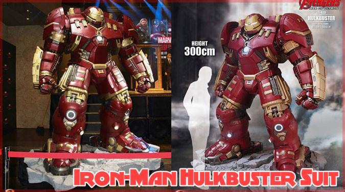 アイアンマンのハルクバスターが等身大フィギュアになって登場!
