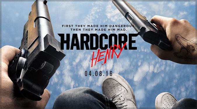 FPSゲームのような映画「Hardcore Henry」が4月8日に米国で公開!