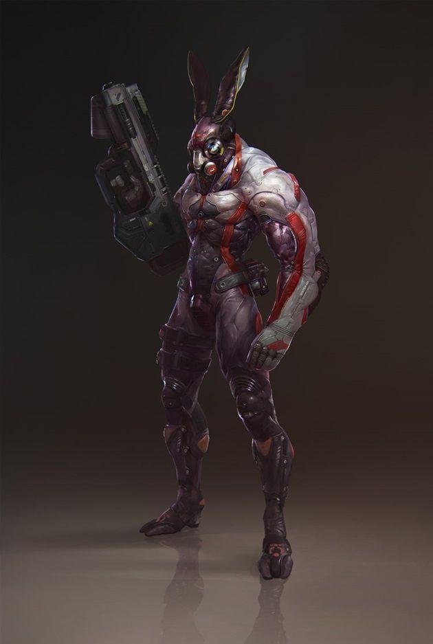 cyber-rabbit-sci-fi-art