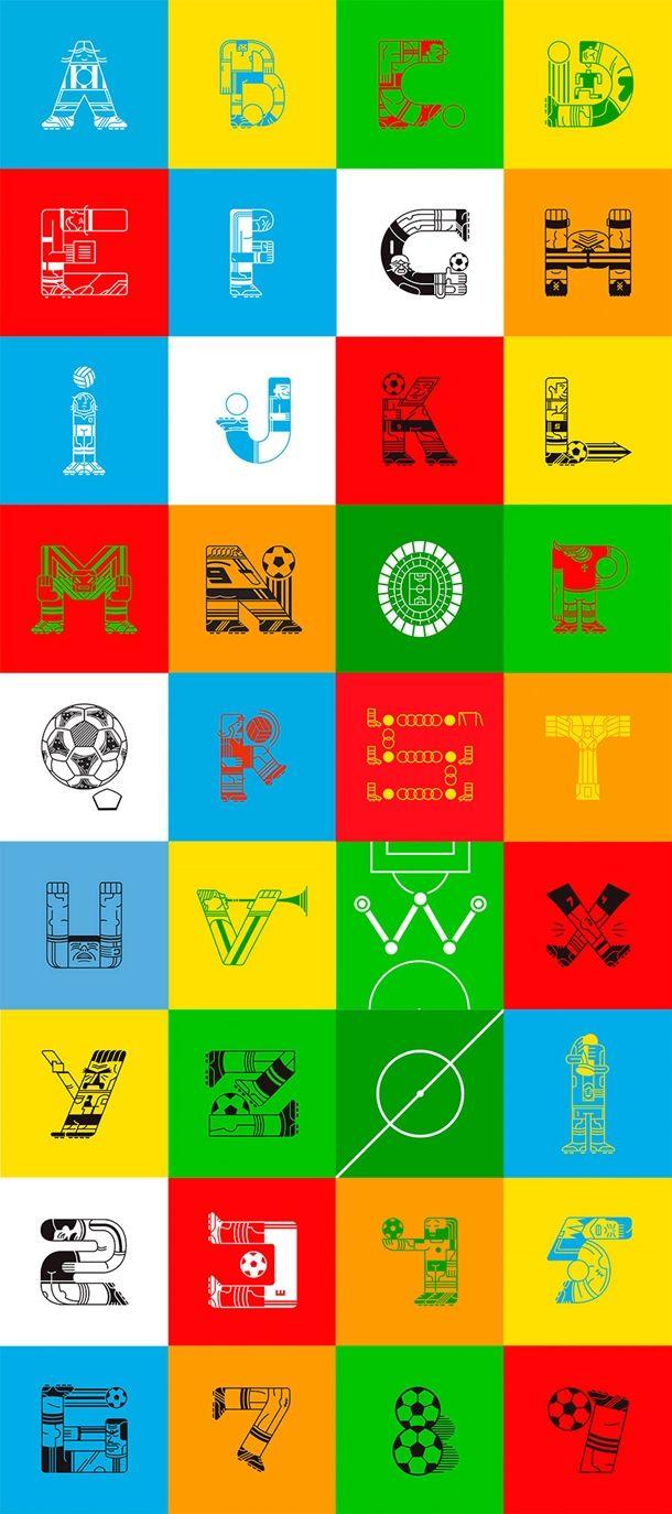 football-alphabet-gustavo-berocan-veiga