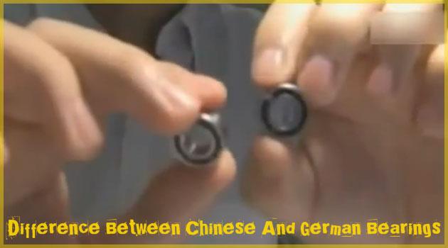 中国製とドイツ製のベアリングを比較した実験動画!