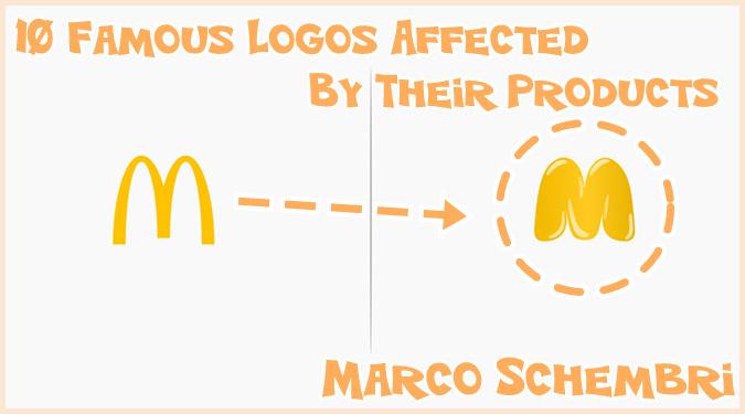 もしも有名なブランドのロゴが自社製品の影響を受けていたら?