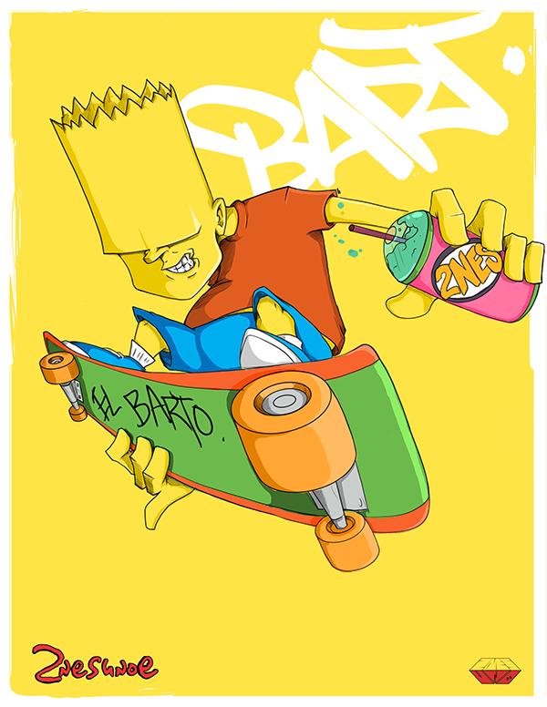 Simpsons-Bart-Favorite-Family