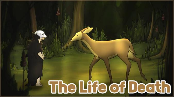 森を彷徨う死神の切なくて美しいショートフィルム「The Life of Death」