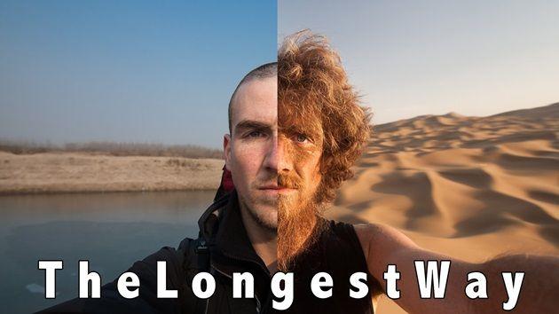 髪と髭を切らずに、中国を一年以上かけて4500キロ歩いた男