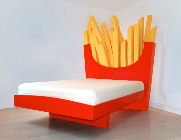 french-fries-bed