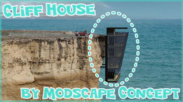 崖の横に建設されたクリフハウス!大富豪の為の奇妙なお家!