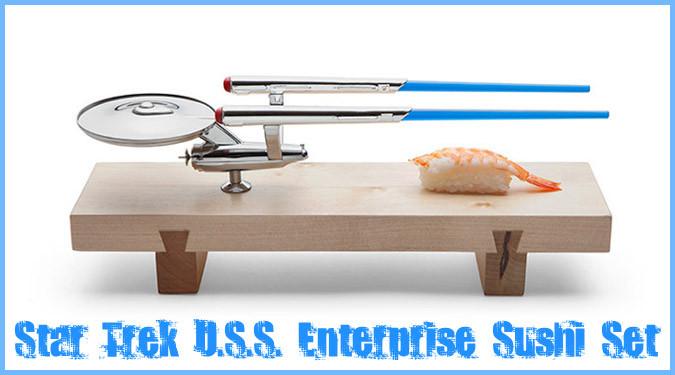 スタートレックの宇宙船をモチーフにしたお寿司セット