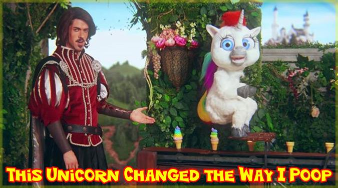 紳士とユニコーンと虹色アイスクリームが出てくる奇妙なCMが話題に!