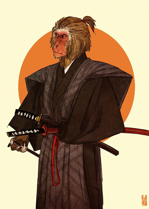 japanese_macaque_by_zarnala-d6qmdjb