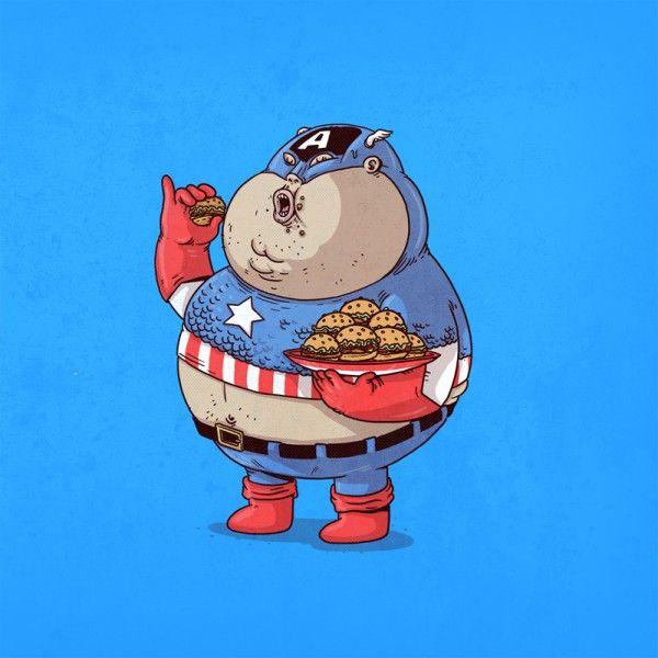 The-Famous-Chunkies-Alex-Solis-Captain-America-600x600