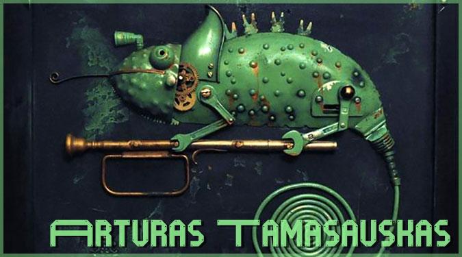 リトアニアのアーティストが作り上げたスチームパンクな動物たち