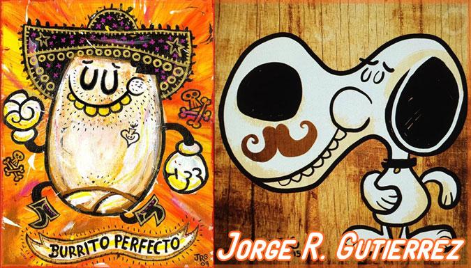 メキシコのアニメーター「ホルヘ・グティエレス」のコミカルな作品集